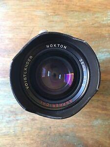 Voigtlander 35mm f/1.2 nokton aspherical Northcote Darebin Area Preview