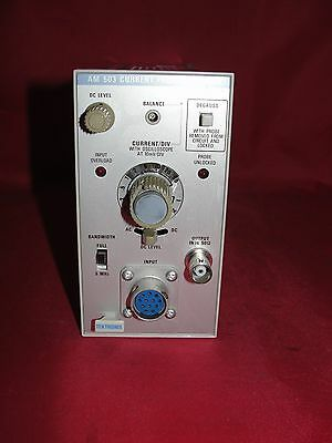 Tektronix Am 503 Current Probe Amplifier Am503s