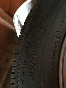 Tires for sale including rims