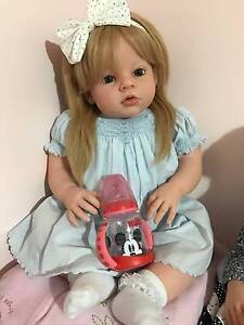 "reborn  Toddler Girl 27"" Arianna Baby Doll Life Melbourne CBD Melbourne City Preview"