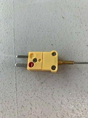 Thermocouple Type K 116 X 12 Ung Ss W Mini Plug.