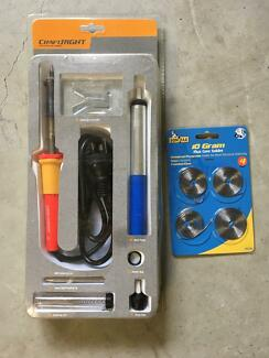Craftwright Soldering iron - used once - as new in box