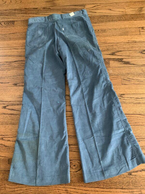VTG Levi's Corduroy Pants Bell Bottom 1970s USA NOS NWT VERY RARE 33x30 Cords