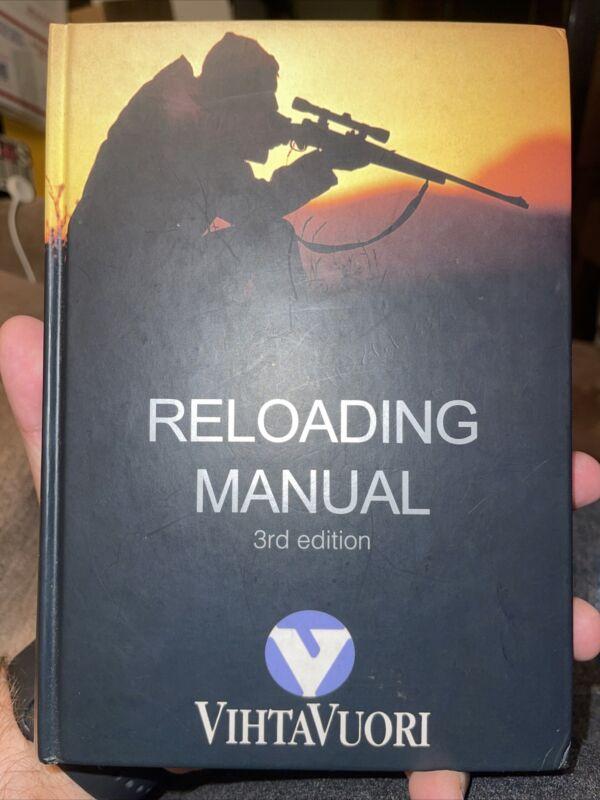 VIHTAVUORI OY Reloading manual third edition