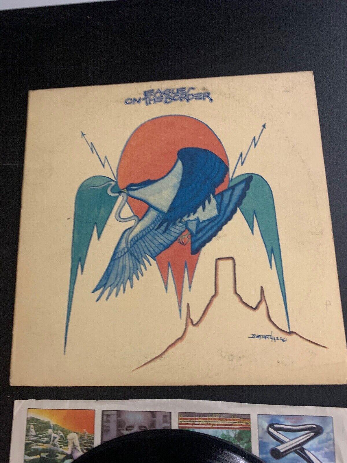 LP RECORD - The Eagles - On The Border - ASYLUM RECORDS - $9.99