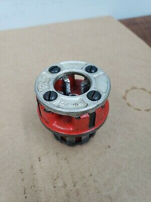Ridgid 00-r Pipe Threading Die 12
