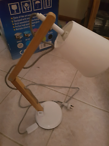 Kmart natural white desk lamp Kingswood Penrith Area Preview
