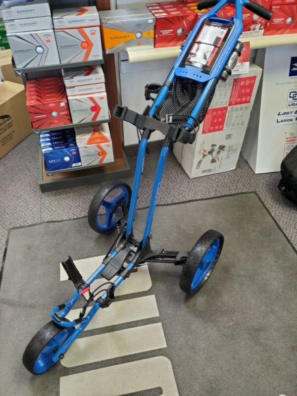 Sun Mountain Pathfinder 3 blue Push Cart