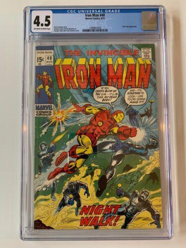 Iron Man #40 CGC 4.5