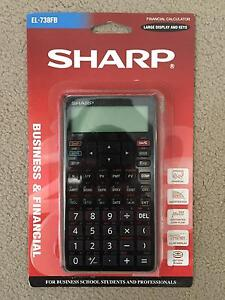Sharp Business & Financial Calculator EL-738FB Yallaroi Gwydir Area Preview