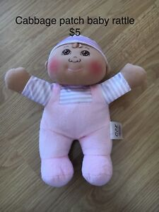 Cabbage patch baby rattle