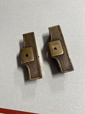 Original National Cash Register Brass End Caps Model 313