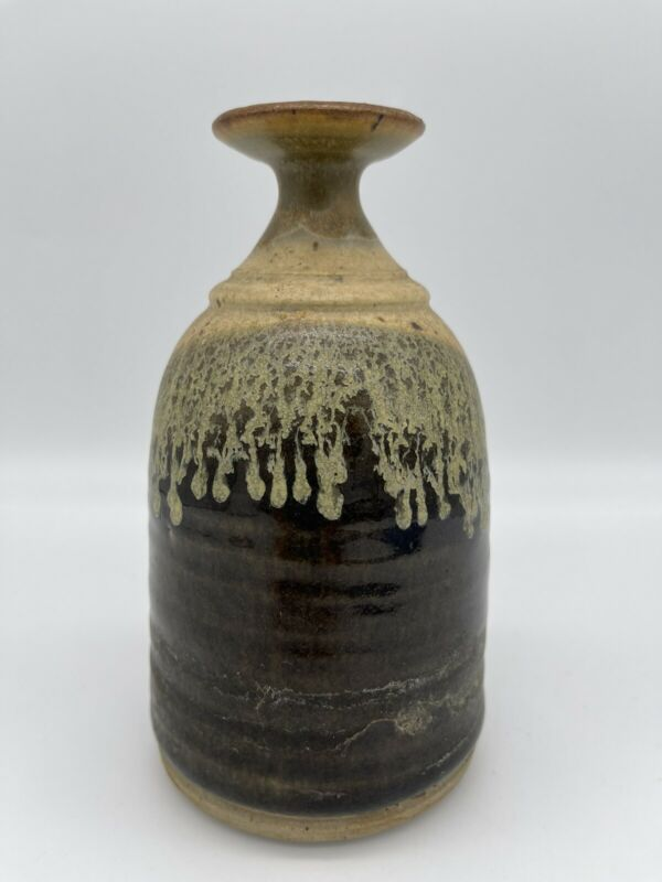 Handmade Pottery Thumb Pot Watering Bell /  Submerge Container In Water To Fill