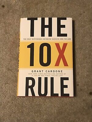 `Cardone, Grant`-The 10X Rule BOOK NEW
