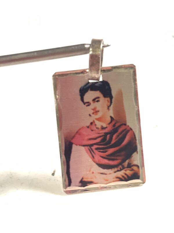 925 Sterling Silver Frida Khalo Pendant