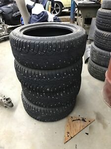 Used studded tires 225/55R17