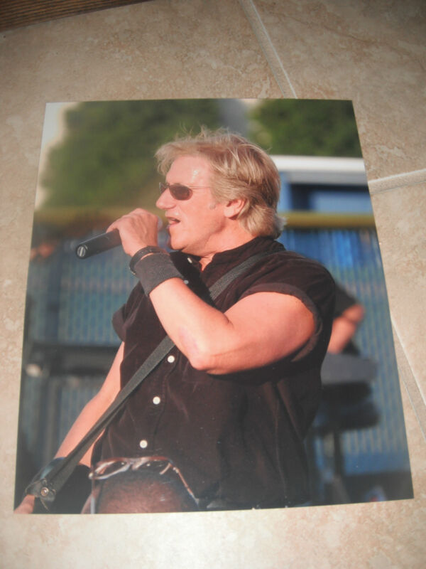 John Cafferty Beaver Brown Band Live Color 8x10 Promo Picture