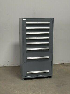 Used Stanley Vidmar 8 Drawer Cabinet Industrial Tool Box Storage 2397