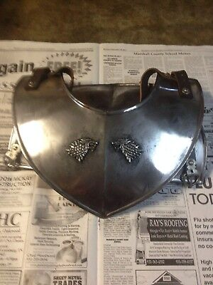 Game Of Thrones Jon Snow Season 7 Costume Real Metal Gorget Neck Piece Armor