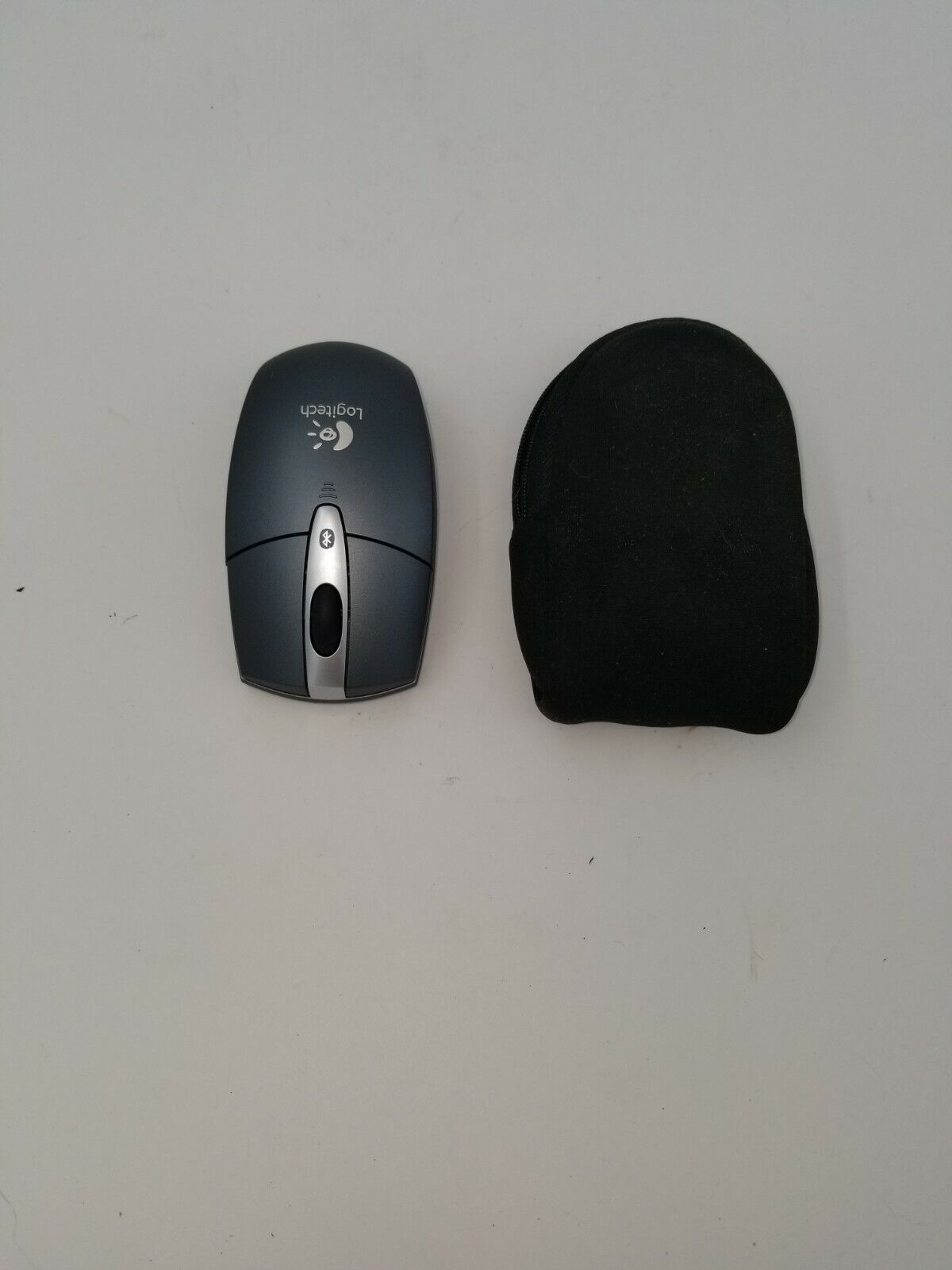 Logitech M-RBB93 Bluetooth WiFi Mouse With Case - $12.00