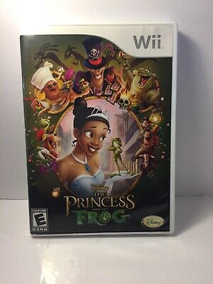 Disney The Princess and the Frog (Nintendo Wii,