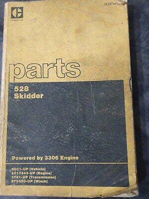 Cat Caterpillar 528 Skidder Parts Book