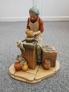 Vintage Naturecraft England Figure called Potter number 844