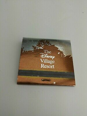 Disney Village Resort Match Book New (1C2)