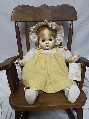 1960s Madame Alexander Puddin Doll With Tag