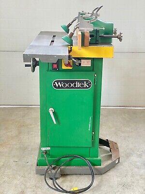 Woodtek Wood Shaper 2 Hp 220v Wk-2al Wfence Table Ext.mobile Base