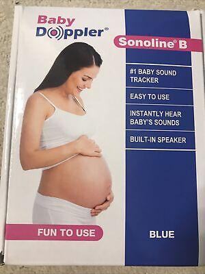 Sonoline B Fetal Doppler 3mhz Probe Baby Doppler Bonus Aquasonic Ultrasound Gel