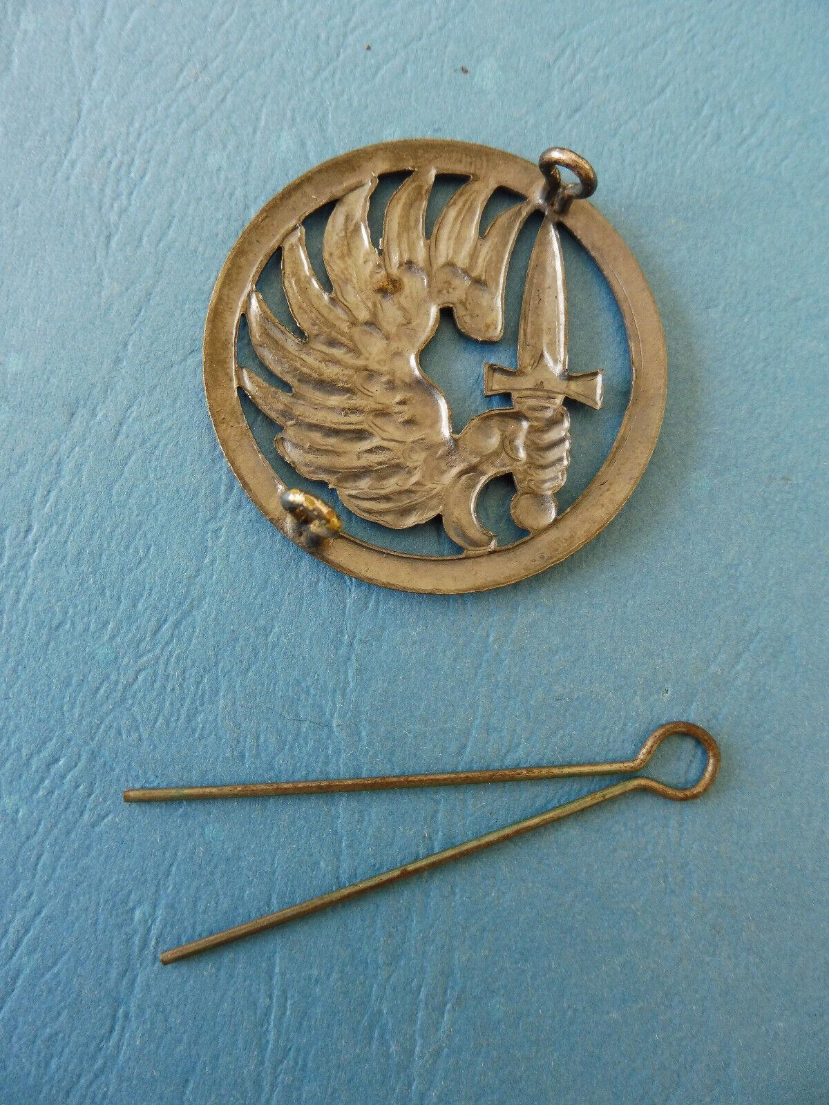 Indochine / beret parachutiste / amarante sas / insigne mourgeon / original