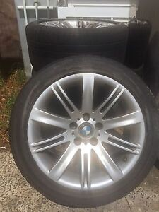 Selling my genuine BMW 18inch wheels Bossley Park Fairfield Area Preview