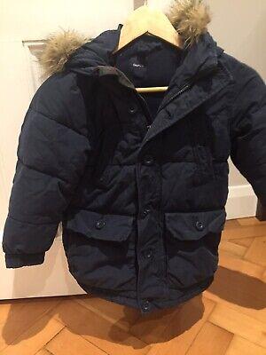 Gap Navy Blue Boys Anorak Coat Jacket Age 7