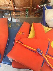 Two adult life jacket