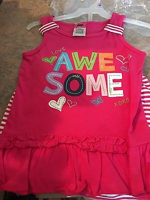 Awesome Outfit (Angel Face Little Girls' Toddler Awesome 2-Piece Outfit, 6x new!)