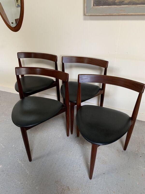 Danish Frem Rojle Dining Chairs