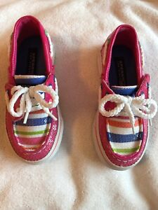 Brand new Sperry Bahama jr size 7 toddler