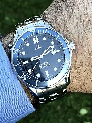 Omega Seamaster (41mm) Blue Dial Men's Wrist Watch!(2541.80)