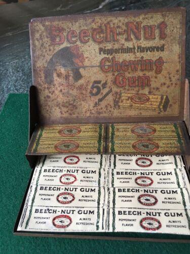 Rare Beech Nut gum display