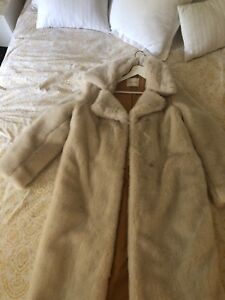 Aritzia faux fur coat in Medium - Golden by TNA