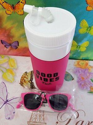 e137125b22 NWT Victoria s Secret Pink Water Bottle Insulated Bottle Opener Sunglasses  Set