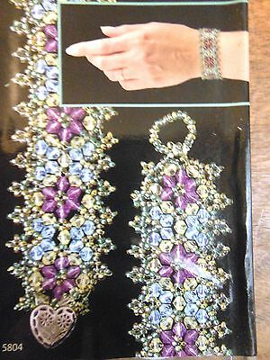 One Bracelet Kit Bead Jewelry DIY Project NIP Selections