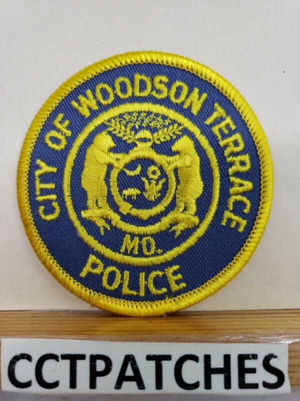 CITY OF WOODSON TERRACE, MISSOURI POLICE SHOULDER PATCH MO