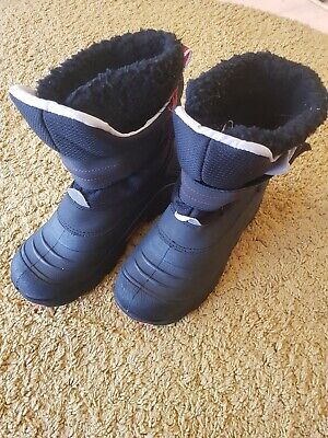 Ladies Khombu Snow Winter Walking Boots Waterproof UK Size 4