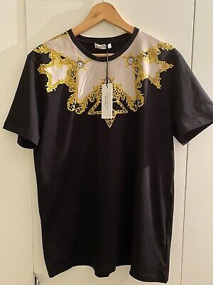 Versace Collection Star Print T-Shirt L - 100% Authentic