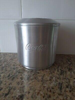 Coca Cola Vintage Aluminium Ice Bucket Retro 1970's 3 pieces