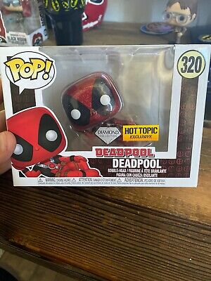 Funko Pop! Marvel Deadpool Diamond Collection Hot Topic Exclusive In Hand
