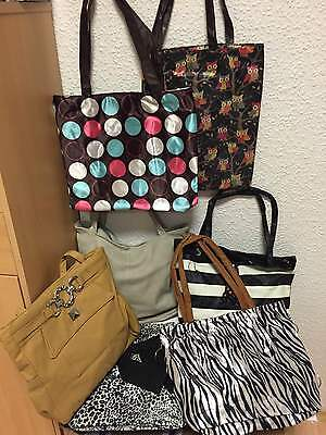 120 Damen Handtaschen Taschen gemischt NEUWARE Flohmarkt Restposten Sonderposten