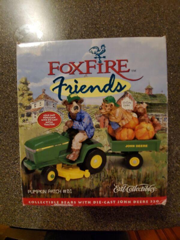 John Deere Foxfire Friends Pumpkin Patch #B1 Ertl Collectibles Die Cast Mower